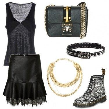 Outfit Al concerto rock