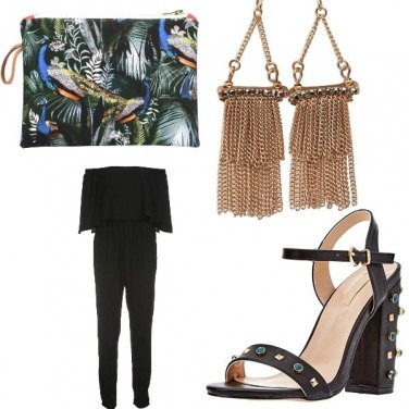 Outfit Black & Chic