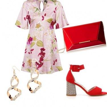 Outfit Accessori in rosso..
