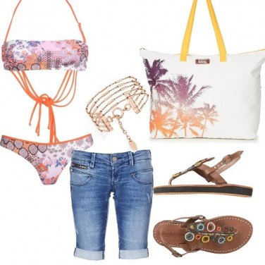 Outfit Free style on the beach
