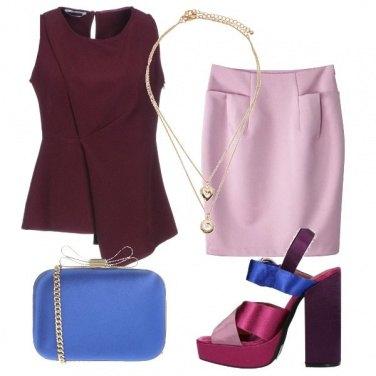 Outfit I sandali multicolore