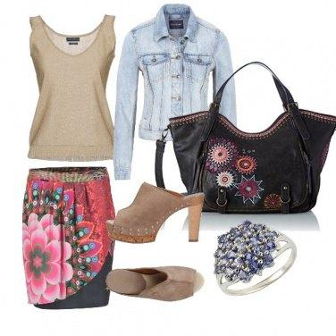 Outfit CMPS Stile Desigual