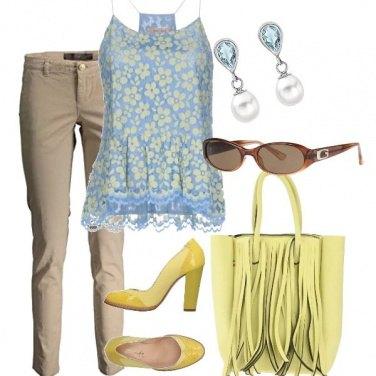 Outfit Un Po di giallo