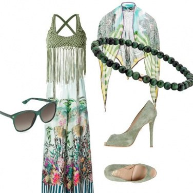 Outfit Matrimonio alle Hawaii