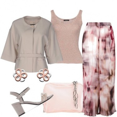 Outfit Stampa sfuocata