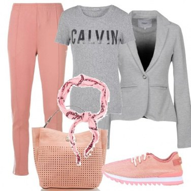Outfit Una giacca in felpa
