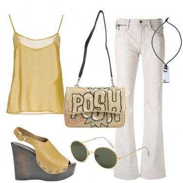 Outfit Borchie e zeppa