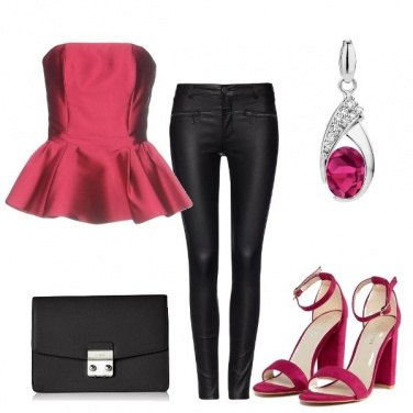 Outfit Il top peplum