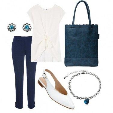 Outfit Semplice bon ton