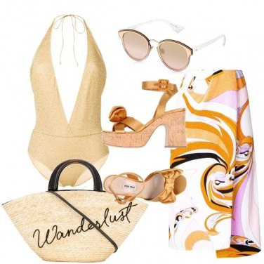 Outfit Lusso al mare