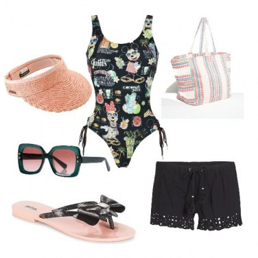 Outfit In spiaggia con Mickey Mouse