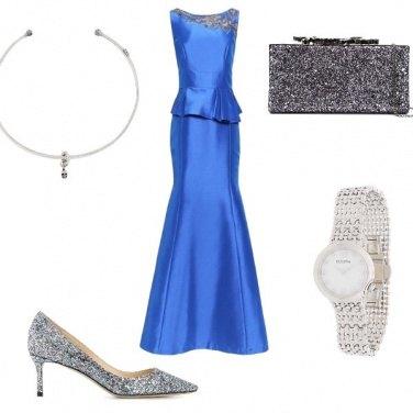 Outfit Chic con l\'orologio con diamanti ...