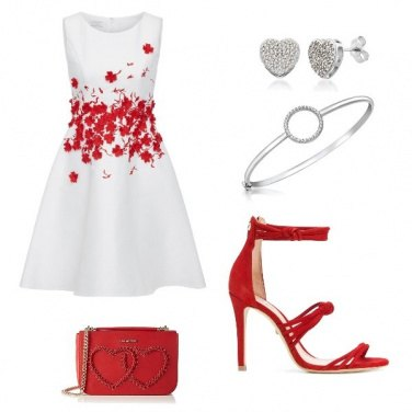Outfit Giornata in rosso