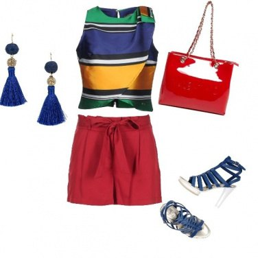 Outfit Tripudio di colore