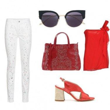 Outfit Il rosso & nero