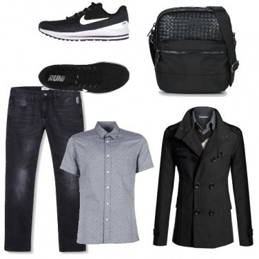 Outfit Casual black