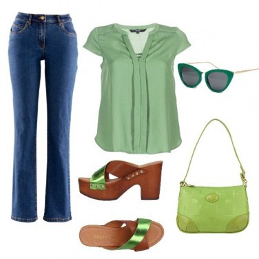 Outfit Green total look