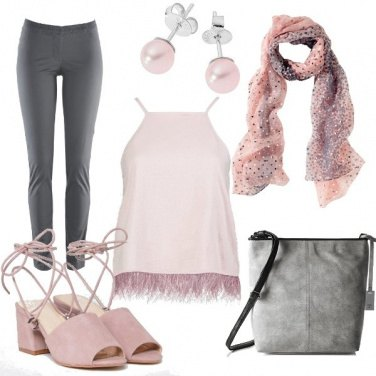 Outfit Rosa chiaro