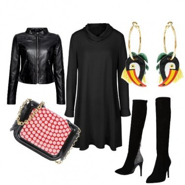 Outfit Brio black