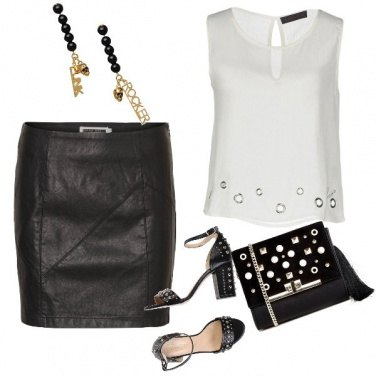 Outfit Rock con stile
