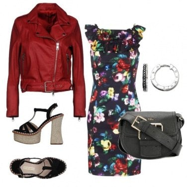 Outfit Fiori grintosi
