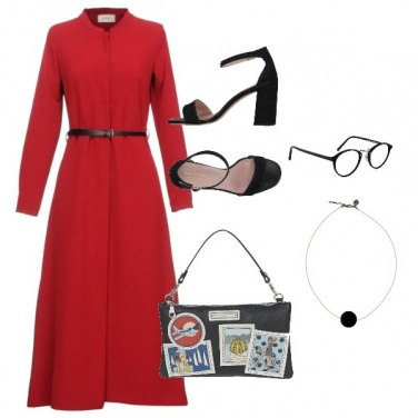Outfit Basic Red