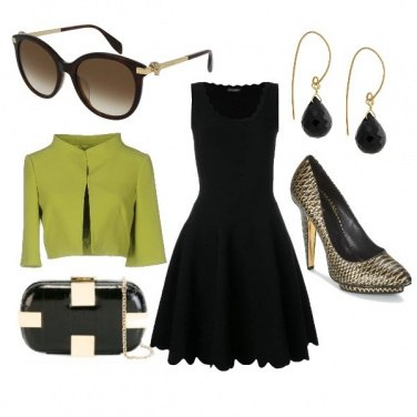 Outfit Green zone
