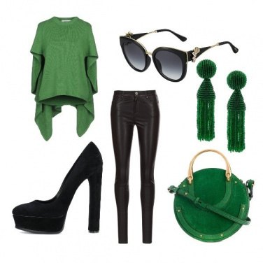 Outfit A green outfit