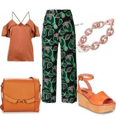 Outfit A lezione ... color ruggine