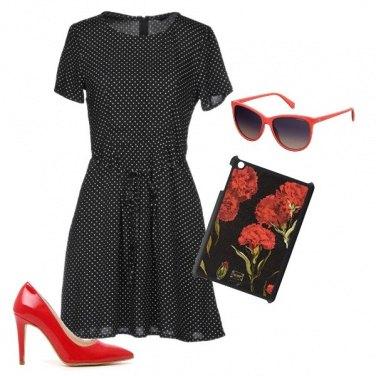 Outfit Classico con un tocco originale