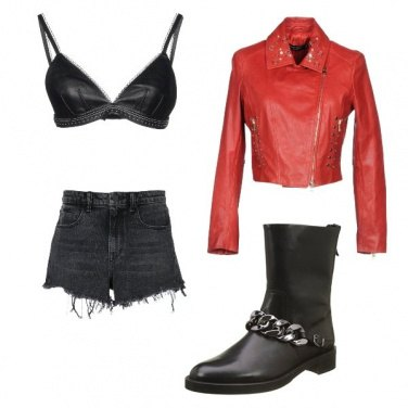 Outfit Rock&roll lady