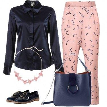Outfit Il pantalone fantasia