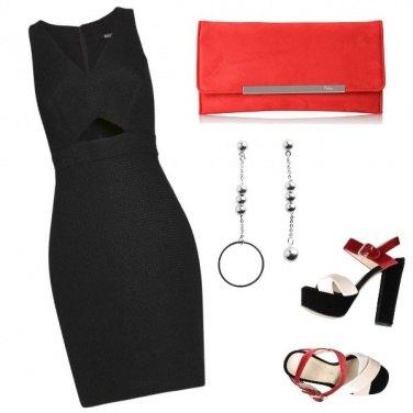 Outfit Nero vs Rosso