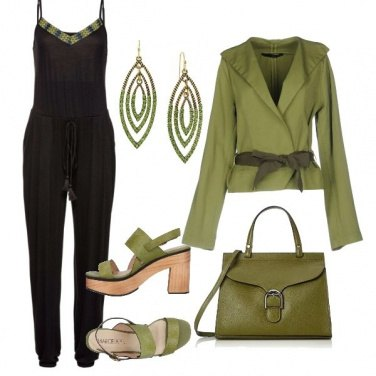 Outfit Verde in vista