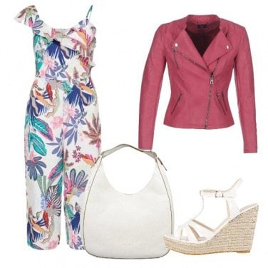 Outfit Jumpsuit and flowers