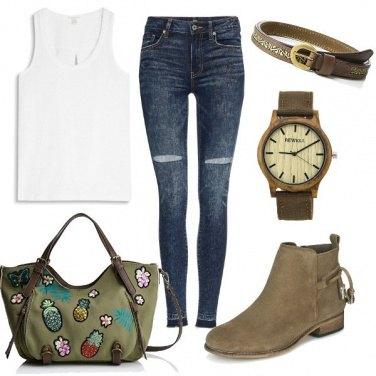 Outfit Fine settimana in campagna