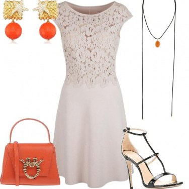 Outfit Pizzo e colore