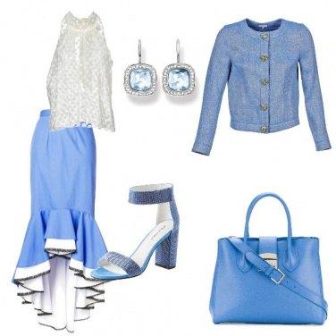 Outfit Balze e pois
