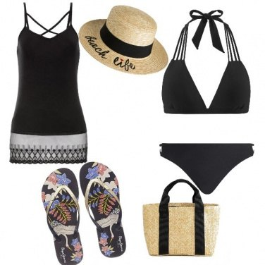 Outfit Black sea