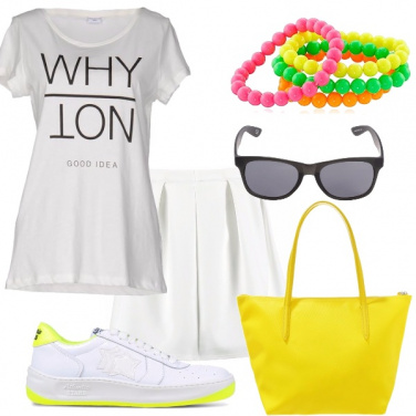 Outfit Un estate fluo