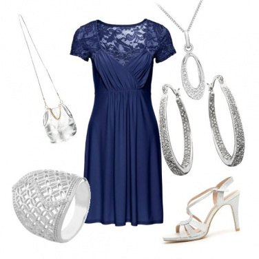 Outfit Elegant blue