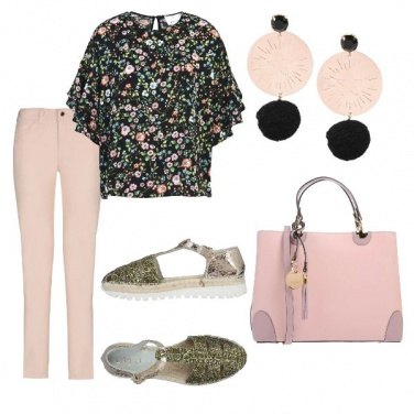 Outfit W il rosa