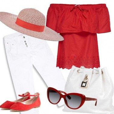 Outfit Saint Tropez style