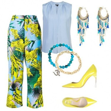 Outfit Yellow details