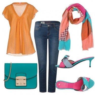 Outfit Profumo colorato
