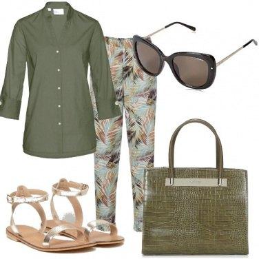 Outfit Sandali dorati