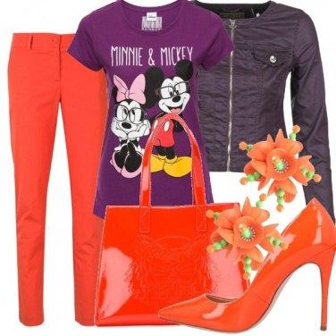 Outfit Colori sgargianti