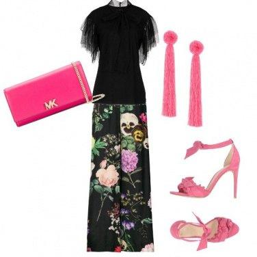 Outfit A fiori con stile