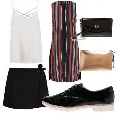 Outfit Gessato e stringato!