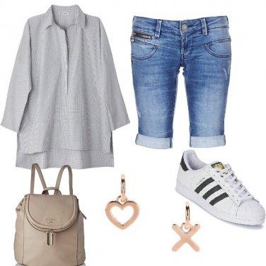 Outfit Il camicione oversize